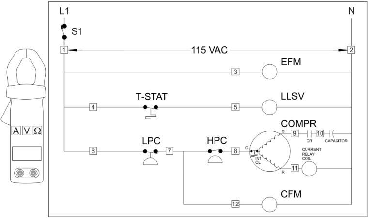 Refrigeration Basics Sample Board 1